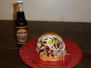 root beer pulled pork